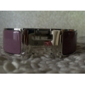 Bangle Clic Clac in Vieux (light purple) size PM with Palladium hard ware in second condition
