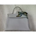 Kelly Gris Perle 35 Clemence Palladium hw new