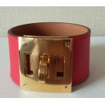 Kelly Dog in Tomate Color in Swift Leather with Gold Hardware in New Condition