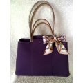 Cabag size PM in Cassis (purple) with palladium hardware in brand new condition