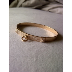 Medor Bangle size PM in Semi Full Diamond in Rose Gold Color in New Condition