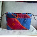 Bag Organizer Fourbi size 20 in Saphir/ Fauve with Silk Material and  light weigt Brand New