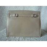 Hermes Kelly Danse in Argile color in Swift color with Palladium hard ware, brand new condition stamp #P